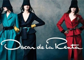 Oscar De La Renta Fall 2013 Campaign- multi color suits'