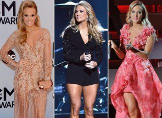 Carrie Underwood 2013 CMA Awards outfits