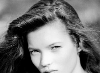 Kate moss first photo shoot throwback thursday black and white