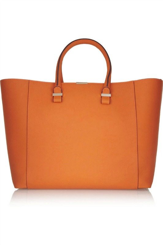 orange net-a-porter bag
