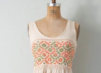 vintage dress esty summer