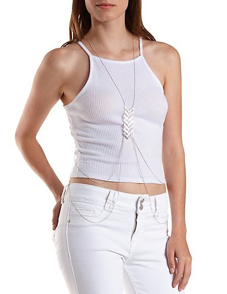 body chain charlotte russe